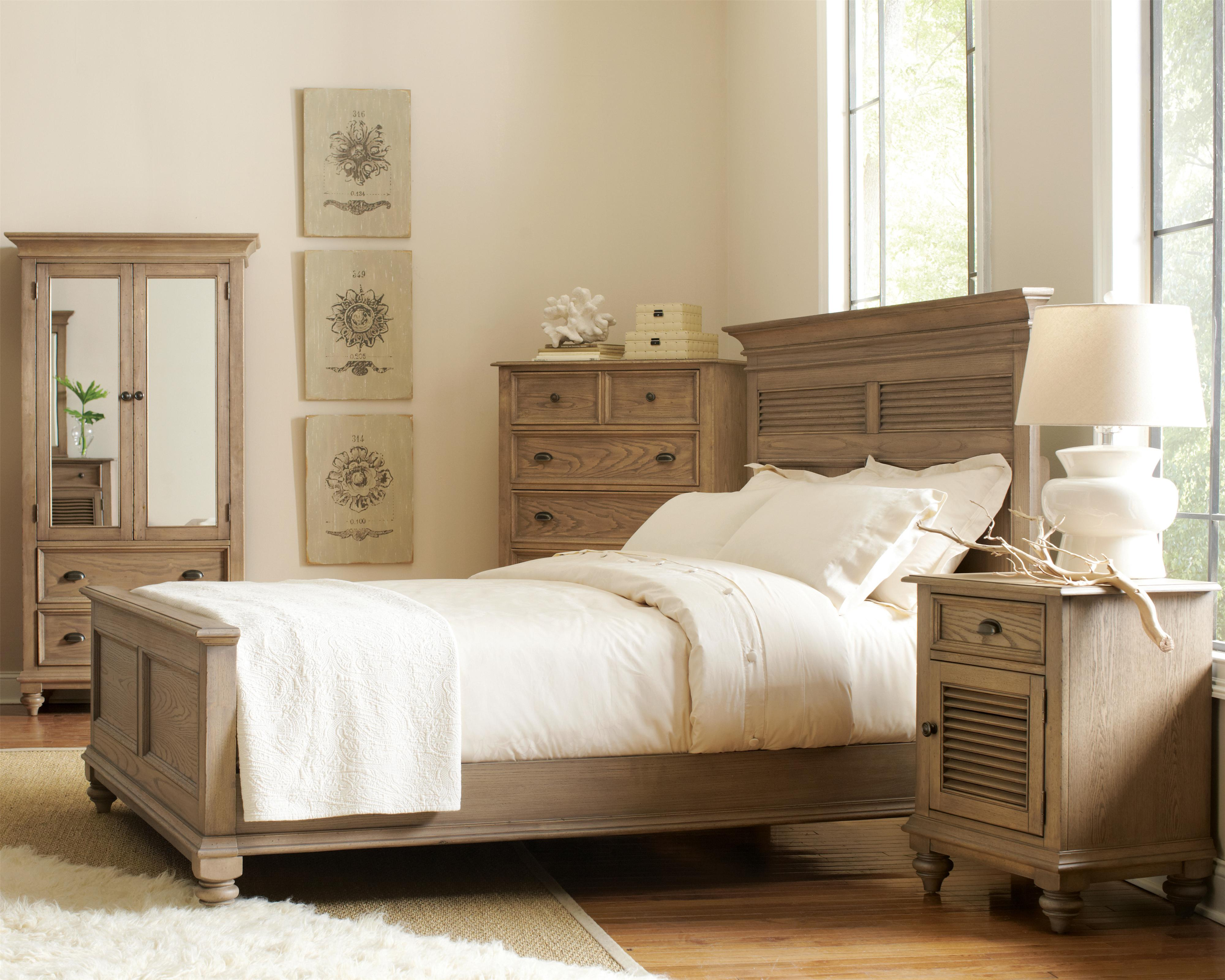 Riverside Furniture Coventry Full/Queen Bedroom Group - Item Number: 32400 F Q Bedroom Group 7