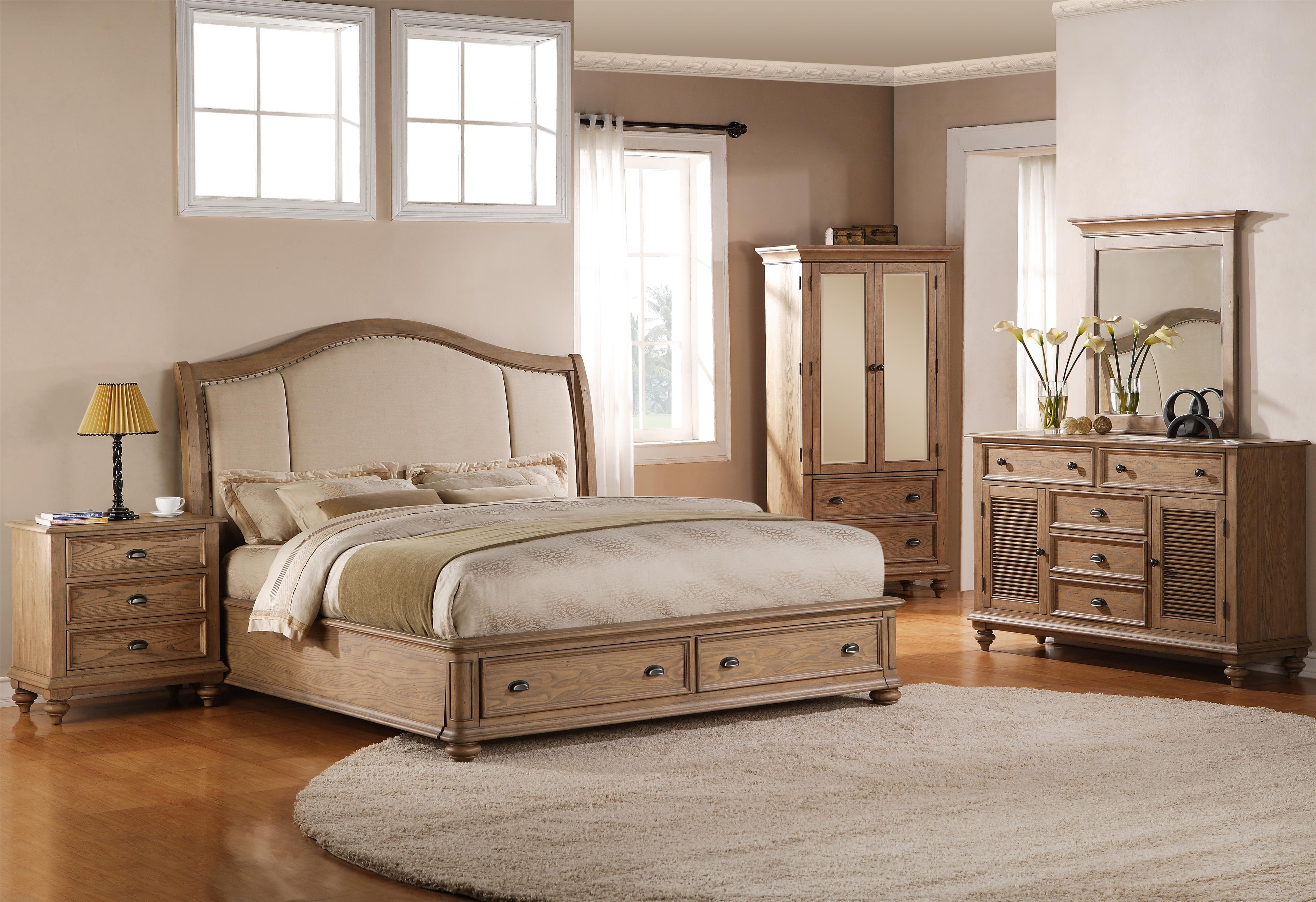 Riverside Furniture Coventry King Bedroom Group - Item Number: 32400 K Bedroom Group 8