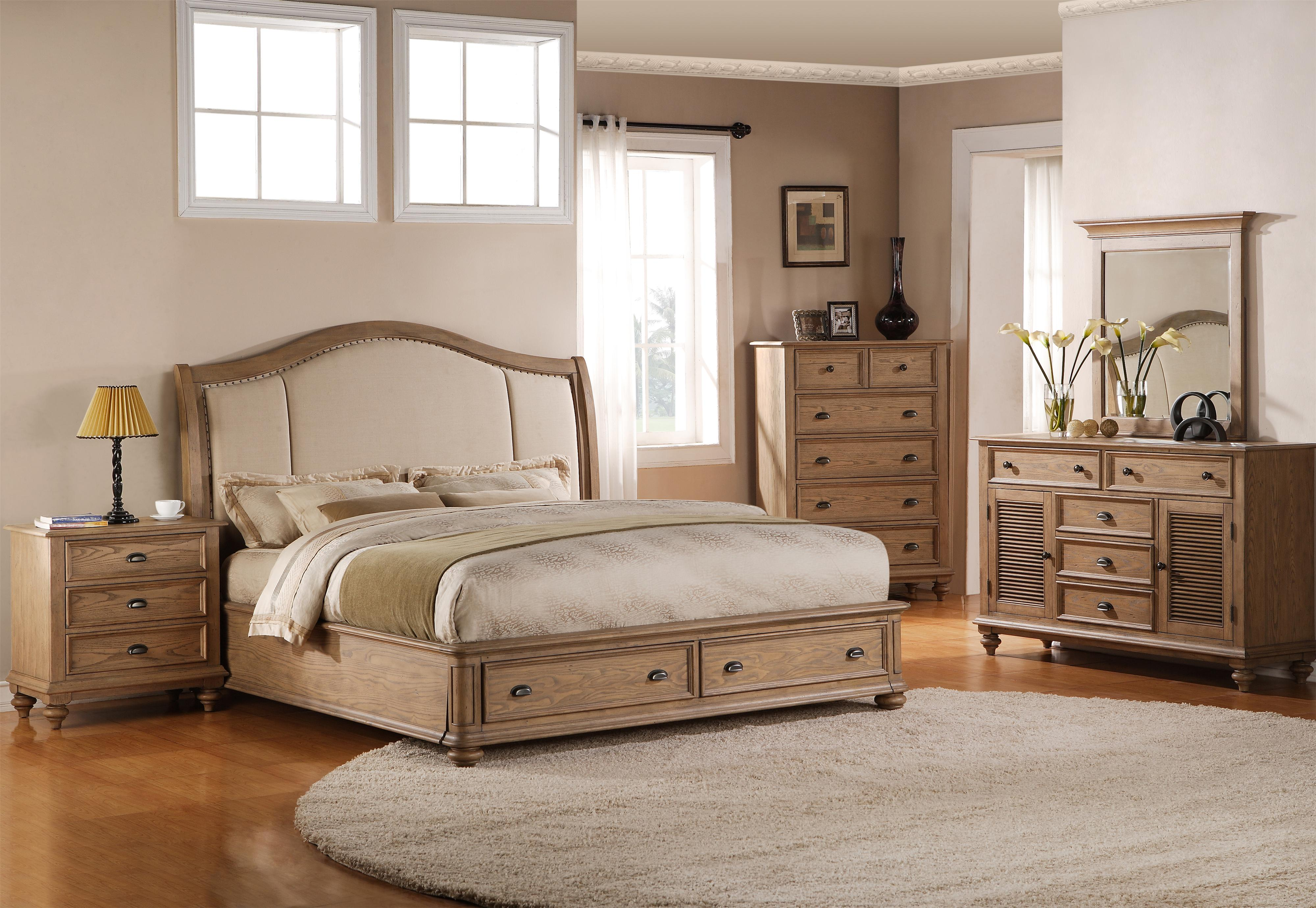 Riverside Furniture Coventry California King Bedroom Group - Item Number: 32400 C K Bedroom Group 9