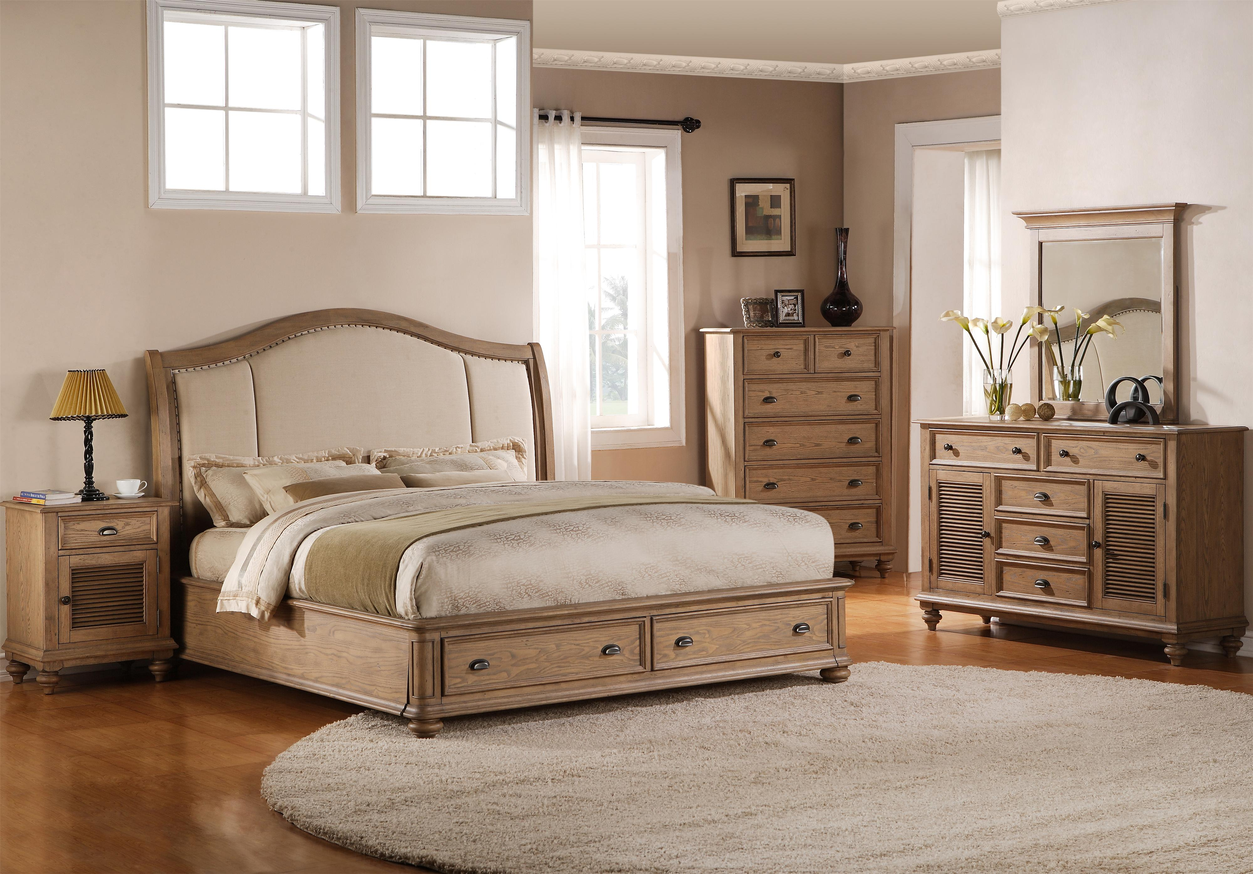 Riverside Furniture Coventry Full/Queen Bedroom Group - Item Number: 32400 F Q Bedroom Group 12