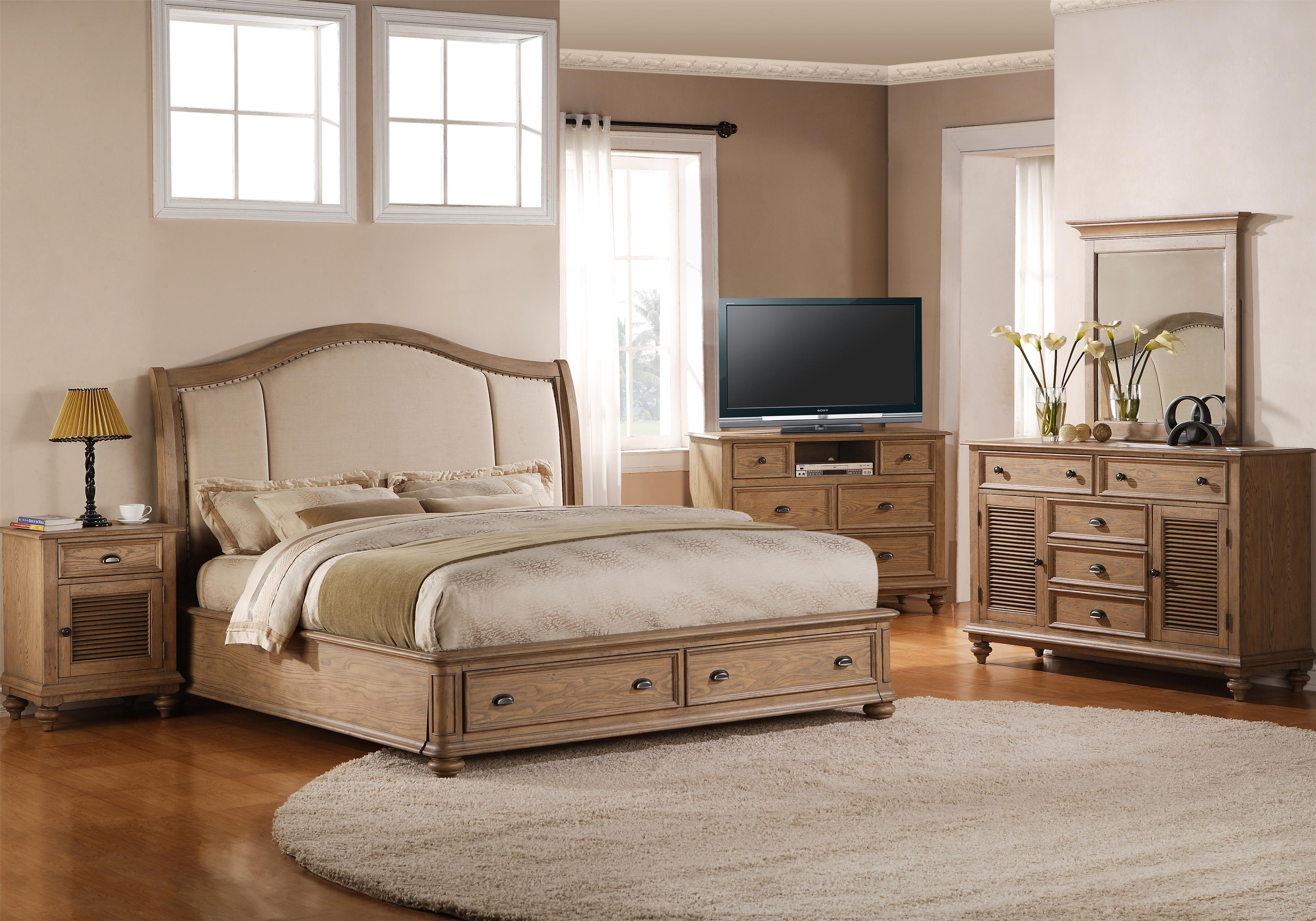 Riverside Furniture Coventry Full/Queen Bedroom Group - Item Number: 32400 F Q Bedroom Group 13