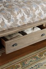 Convenient Footboard Storage Options for Your Bedroom