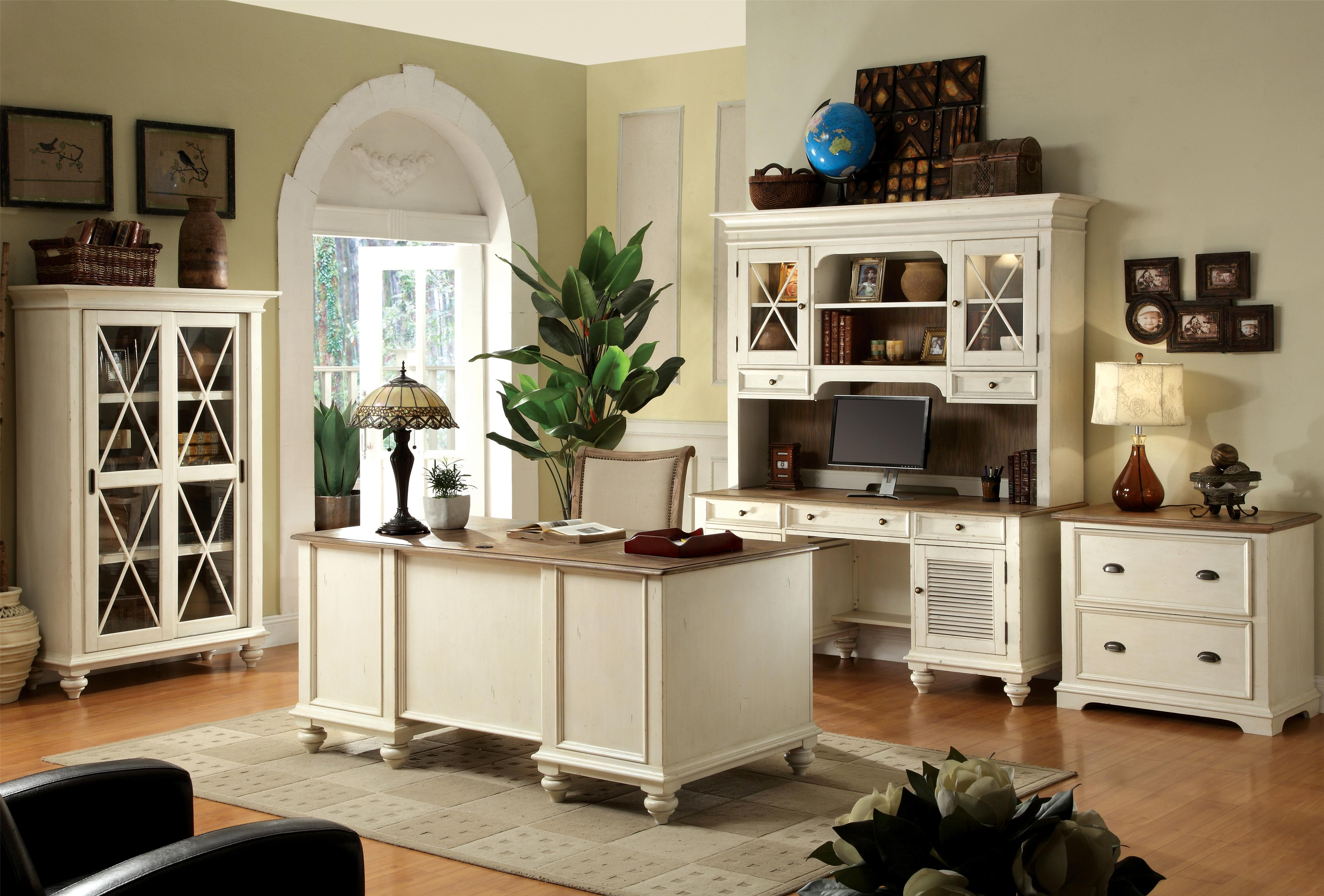 Riverside Furniture Coventry Two Tone Formal Dining Room Group   Wayside  Furniture   Formal Dining Room Group