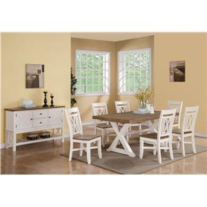Riverside Furniture Framingham Casual Dining Room Group