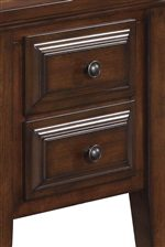 Raised Front Drawer Paneling