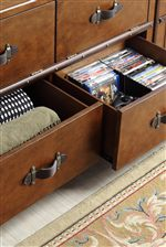 Drawers Offer Convenient Concealed Storage Space for Living Accessories