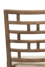 Lattice Chair Back Design