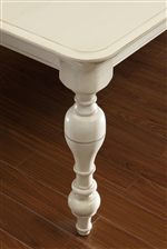 Beautiful Turnings on Table Legs Add a Traditional Look & Feel