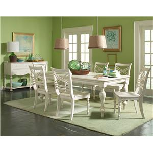 Riverside Furniture Placid Cove Casual Dining Room Group