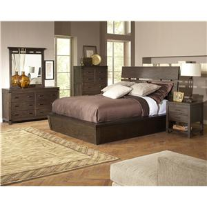 Riverside Furniture Promenade  California King Bedroom Group