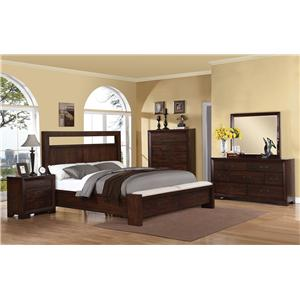 Riverside Furniture Riata Queen Bedroom Group
