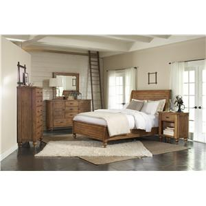 Riverside Furniture Summer Hill California King Bedroom Group