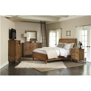 Riverside Furniture Summer Hill Queen Bedroom Group