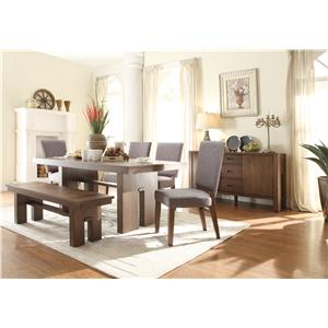 Riverside Furniture Terra Vista Formal Dining Room Group