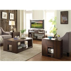 Riverside Furniture Terra Vista Modern Server w/ Drawers