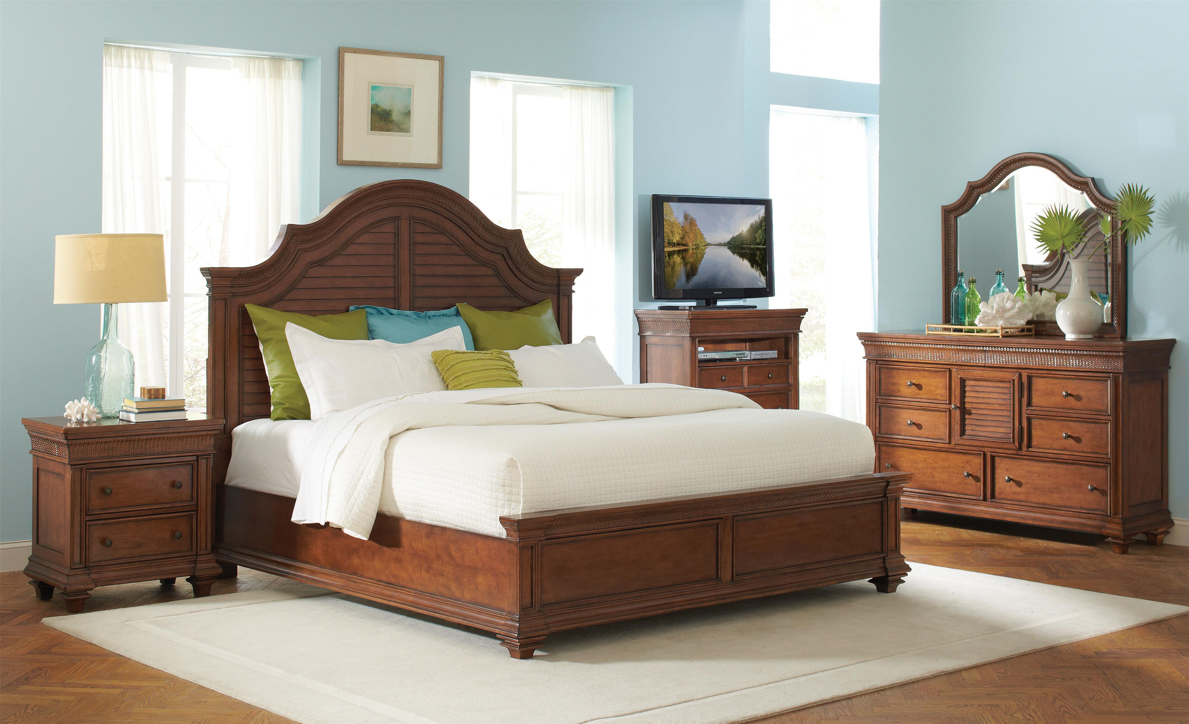 Riverside Furniture Windward Bay King Bedroom Group - Item Number: 428 K Bedroom Group 1