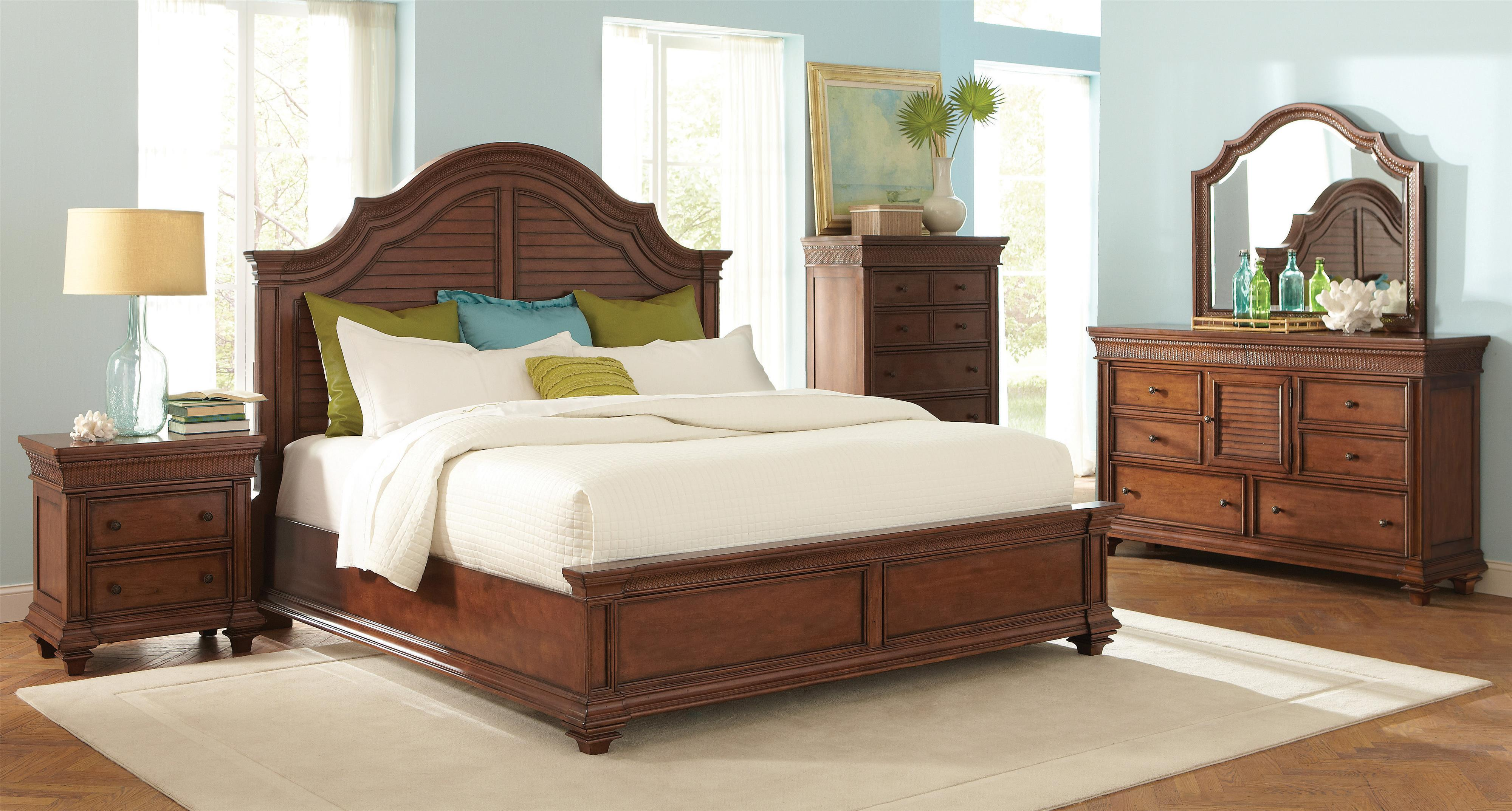 Riverside Furniture Windward Bay King Bedroom Group - Item Number: 428 K Bedroom Group 2