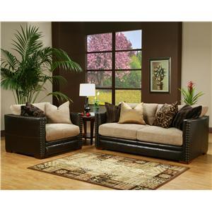 Robert Michael La Jolla L Shaped Sofa Sectional