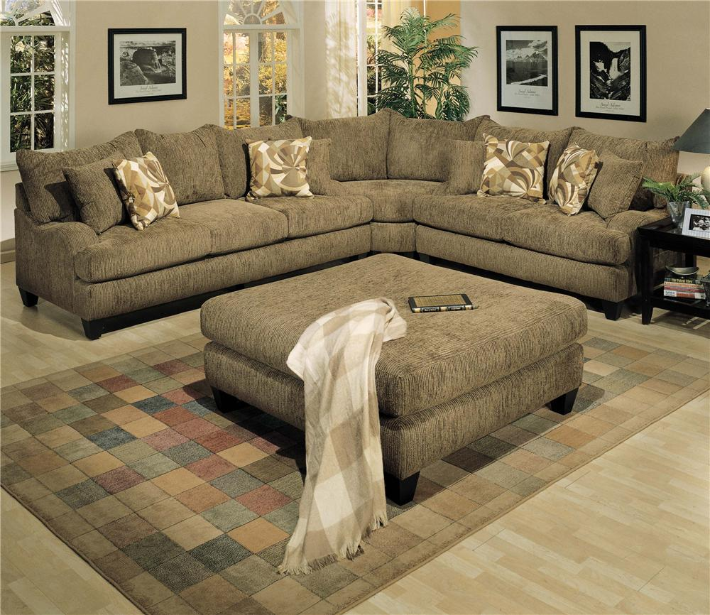 Robert Michael Long Street Sofa And Loveseat With Corner Curve Furniturewebsite Sectional