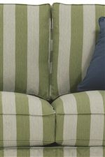 Plush Upholstered Seat Cushions Feature Eco-Friendly Foam Cores