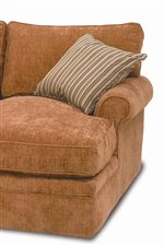 Place a Comfortable Chaise at the End of Your Sectional for a Place to Kick up Your Feet and Relax!