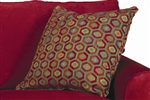 Colorful Patterned Toss Pillows in 1375-30 Fabric