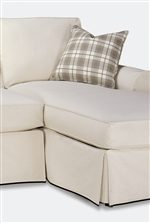 A Chaise is an Elegant and Comfortable Addition to the Collection.