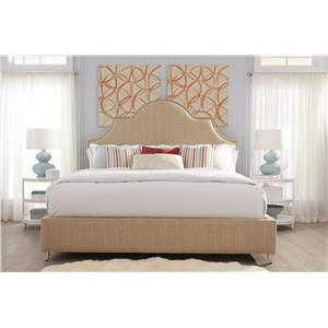 Rowe My Style - Beds Riverside 60'' Upholstered King Bed