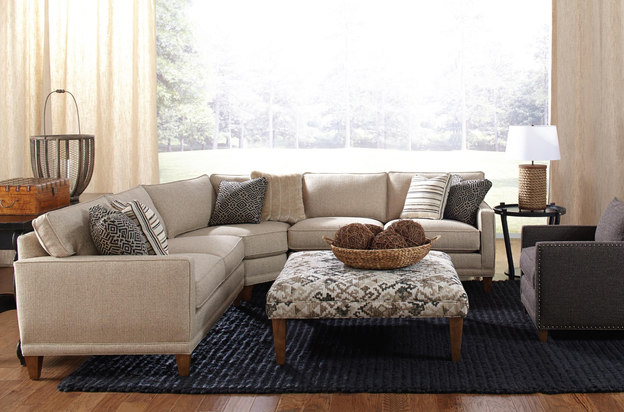 Rowe Townsend Casual Three Piece Sectional Sofa - Sprintz Furniture - Sectional Sofas Nashville Franklin and Greater Tennessee : rowe sectional sofas - Sectionals, Sofas & Couches