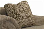 Jungle Cat Taupe Pillow