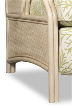 Woven Wicker Panels Add Tropical Feel