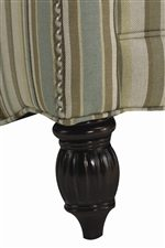 Decorative Wood Legs with Exquisite Turned Post Details