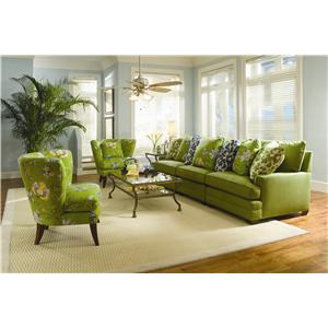 Sam Moore Margo Extra Wide Sectional Sofa  sc 1 st  Stuckey Furniture : sam moore sectional - Sectionals, Sofas & Couches