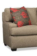 Wide Seats are Surrounded with Bold, Structural Track Arms for the Perfect Amount of Striking Style and Plush Comfort