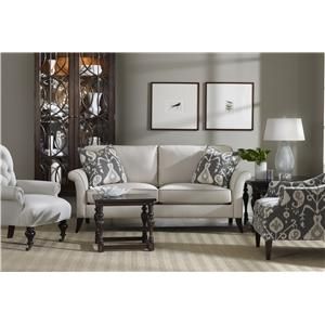 Sam Moore Quinn Transitional Two-Over-Two Sofa