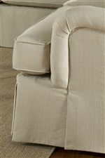 Boxed, T-Front Seat Cushions and Waterfall Skirt