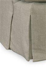 Waterfall Skirt with Box Pleat