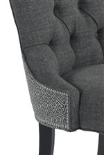 Option of Nailhead Trim or Two-Tone Upholstery