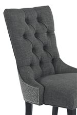 Tall, Button-Tufted Seat Back