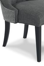 Slender, Tapered Block Legs