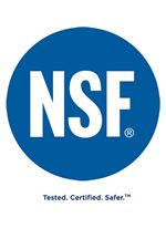Washers with the NSF Certified Sanitization Cycle Achieve a Minimum of 99.999% Reduction of Bacteria