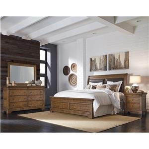 Samuel Lawrence American Attitude King Bedroom Group