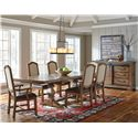 Samuel Lawrence American Attitude Formal Dining Room Group - Item Number: 8854 Dining Room Group 2