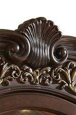 Shell Carving with Open Flora Carving Beneath, Featured on Dining Chairs and Complete China