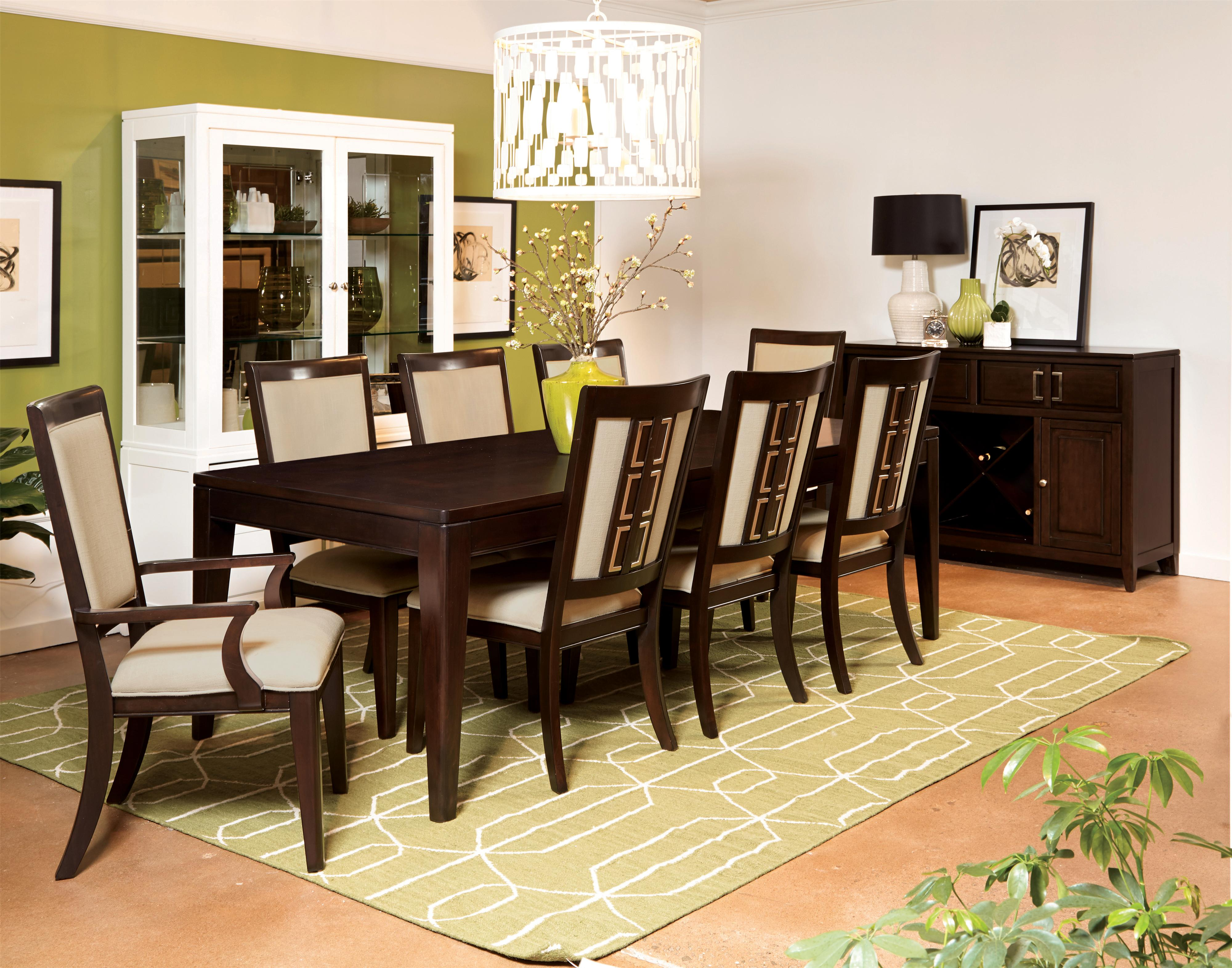 Samuel Lawrence Brighton Formal Dining Room Group - Item Number: 8672 Dining Room Group 1