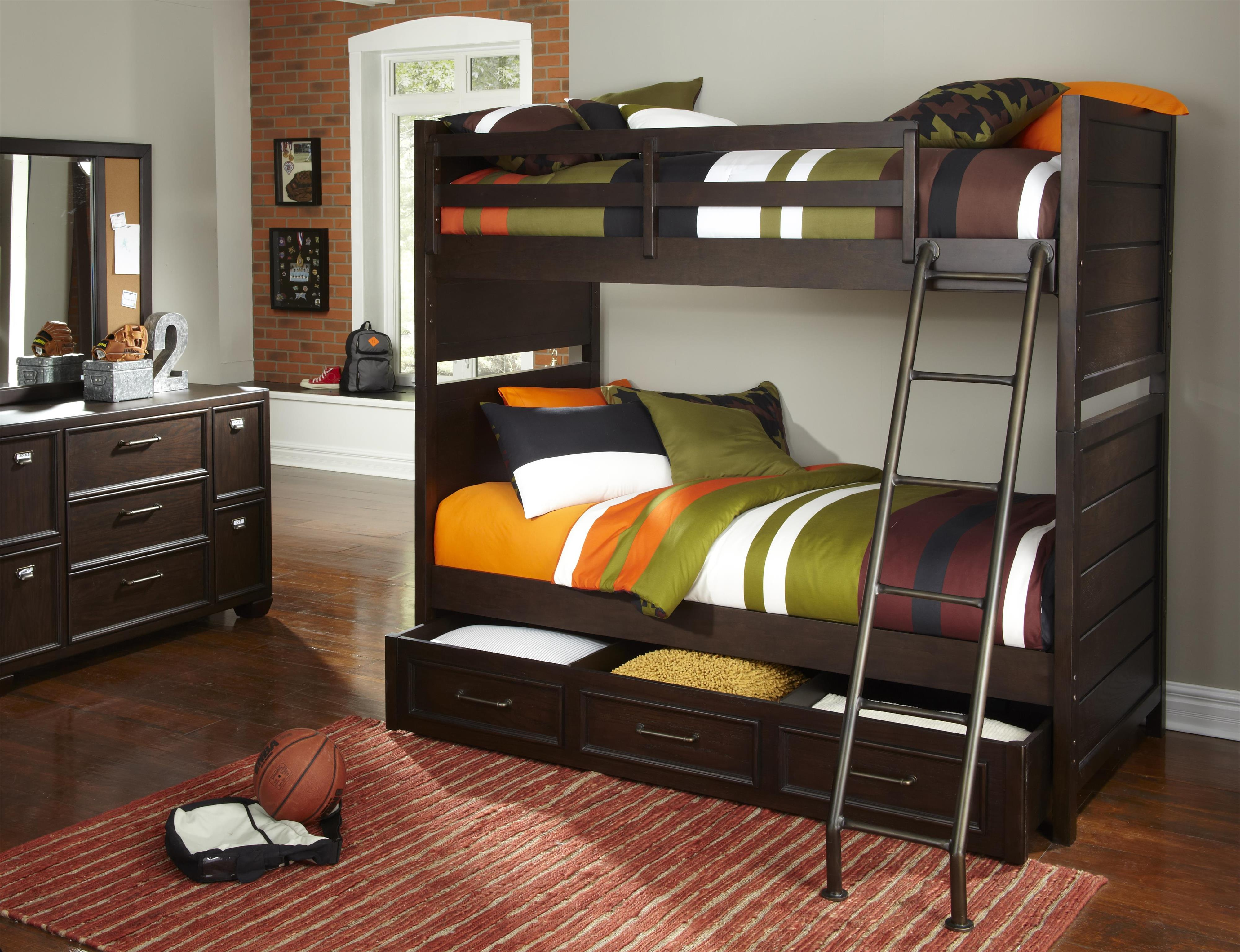 Clubhouse Casual Dresser and Mirror Set by Samuel Lawrence at Rooms for Less