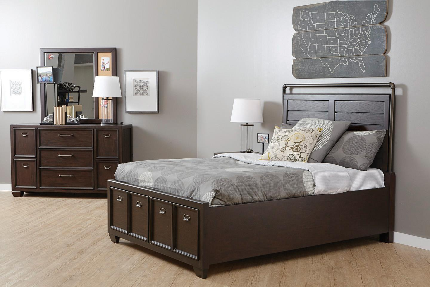 piece with furniture bright samuel set sweetheart white lawrence in twin footboard upholstered bedroom storage