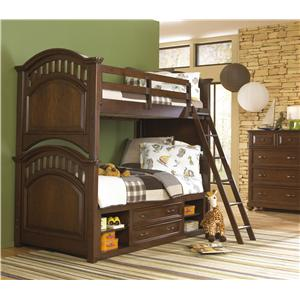 Morris Home Furnishings Edgewood Twin Bedroom Group
