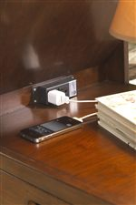 Outlet to Provide Power and Cord Control