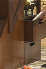 Storage Space with Dovetail Joinery and Sanded and Sealed Interiors